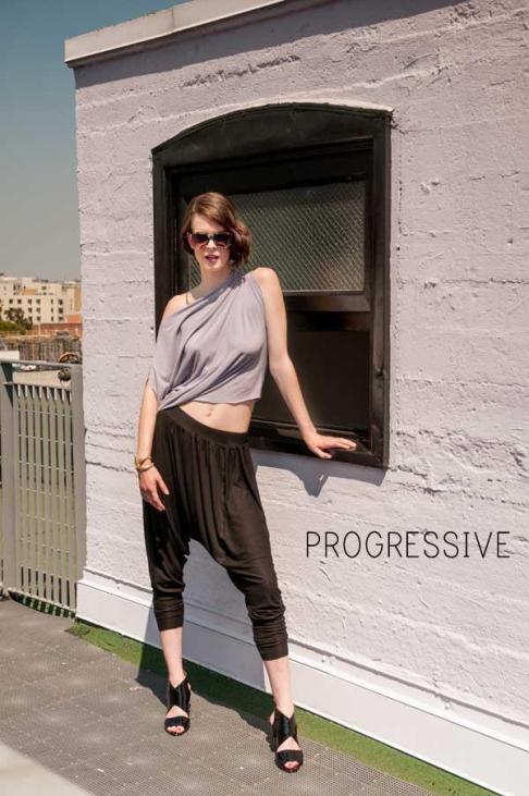 Progressive style Jessica Faulkner