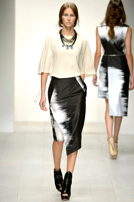 726d5f7589712268fe06e7e1e424d90fJean-Pierre Braganza spring '13boxy top with black & white midi wrap
