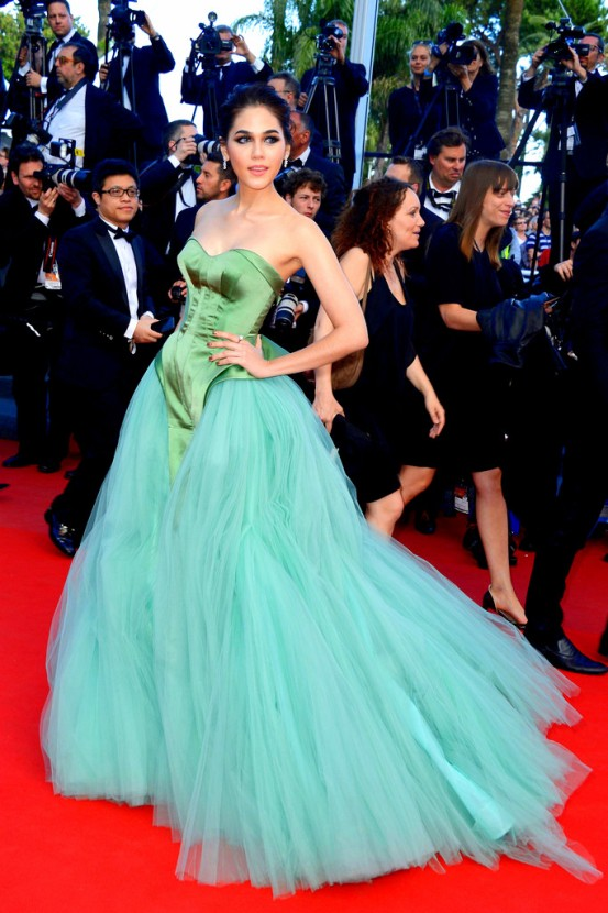 Cleopatra+Premiere+66th+Annual+Cannes+Film+A4srvKXM5ClxAraya A. Hargate attends the 'Cleopatra Zac posen