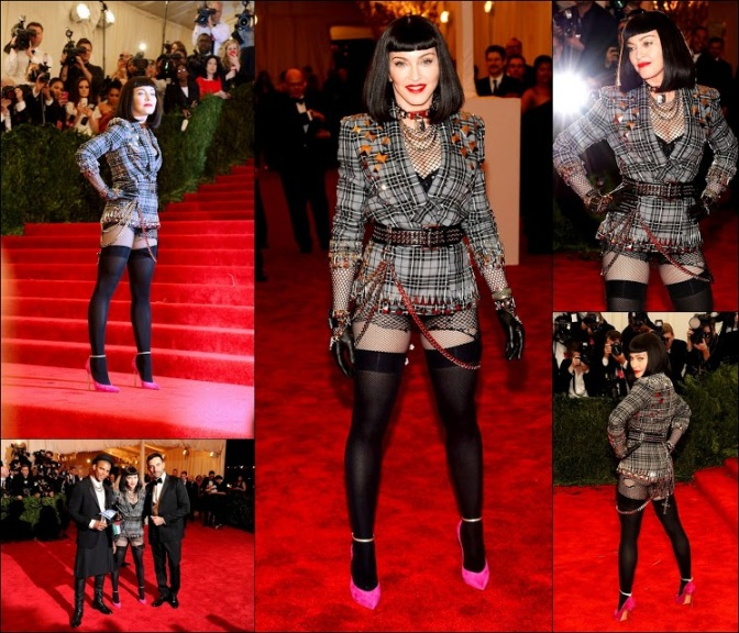 MET GALA 201335 Madonna in Riccardo Tisci in givenchy