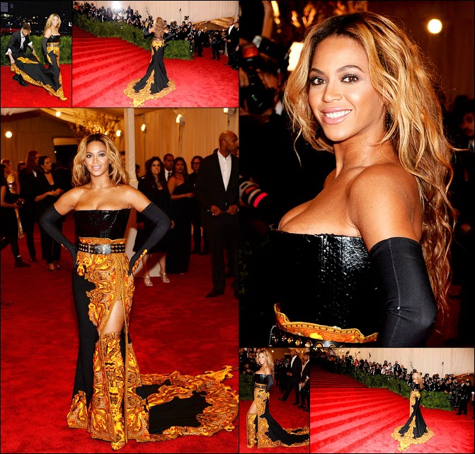 MET GALA 201357 Beyonce in Givenchy