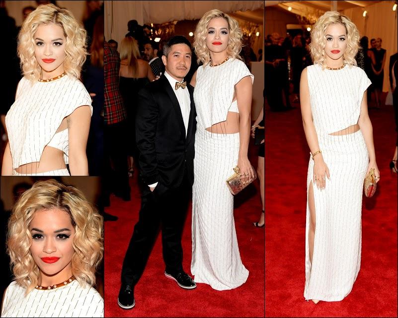 MET GALA 201359 Rita Ora in+ Derek Som