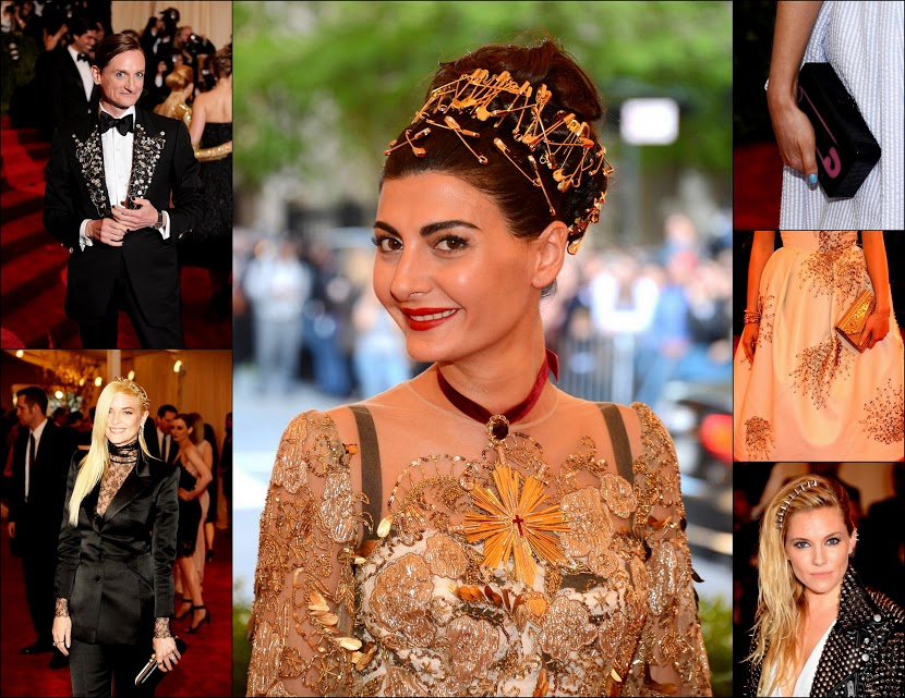 MET GALA 201364 safety pins and spikes punk trend