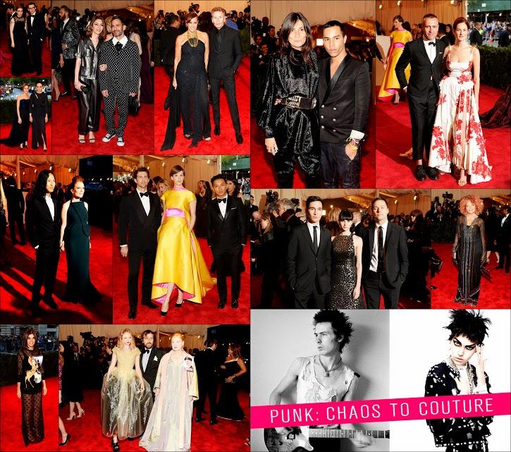 MET GALA 201372 Fashion Power Punk Players + Donna Karan+ Alexander wang+ Prabal Gurung+