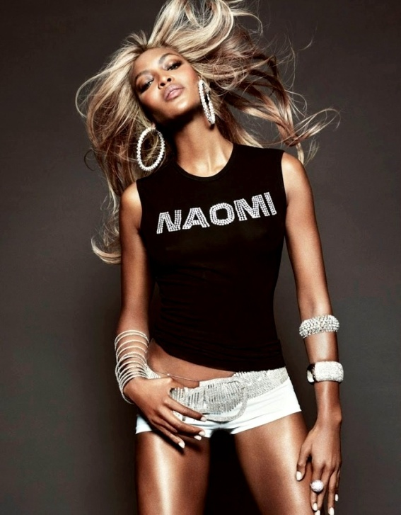 Naomi Campbell lensed by Tom Munro Vogue Brazil 38th Anniversary Issue