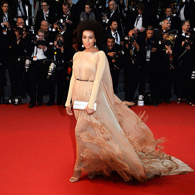 slide08Solange Knowles, in Stéphane Rolland Couture, with Chopard jewels and a Jimmy Choo clutch.