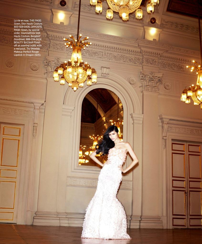 Sui He, Harpers Bazaar US, May 2013 s