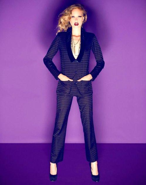 Holiday Fashion Jessica Faulkner