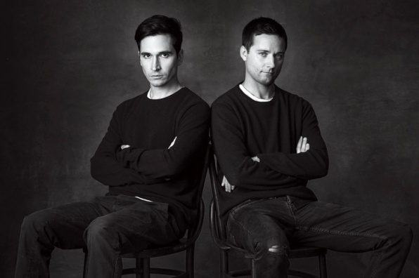 The Nominees WOMENSWEAR DESIGNER OF THE YEAR AND ACCESSORY DESIGNER OF THE YEAR Lazaro Hernandez and Jack McCollough