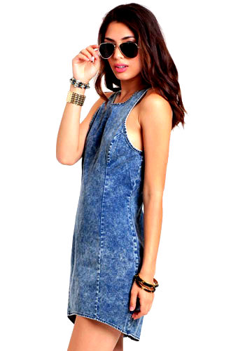 10363_2Anonymous Acid Wash Denim Dress