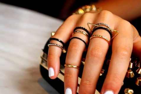 mini knuckle ring