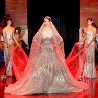 Red, White & Beautiful Video: With Elie Saab Fall 2013 Couture Collection!