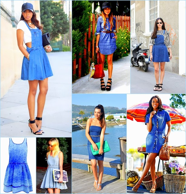 Collages1 Denim style 3 new styles dresses