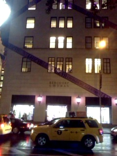 Bergdorf Goodman At Night Wrapped In Style!