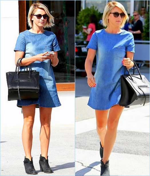 Pictures2julianne hough denim dress street style