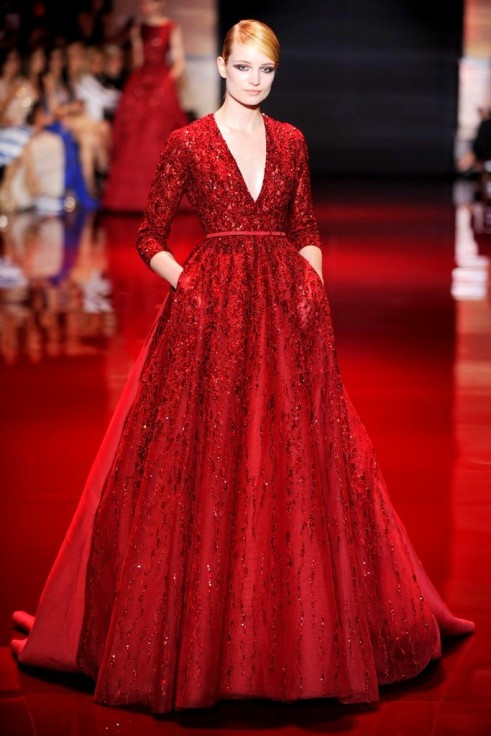 FALL 2013 COUTURE Elie Saab