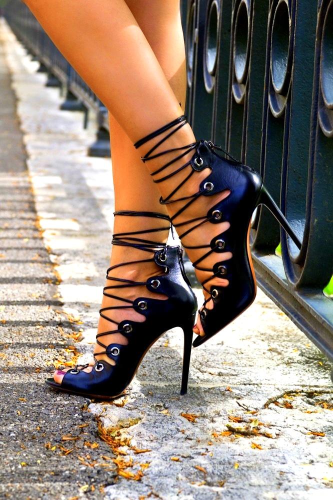High heel spunk the true