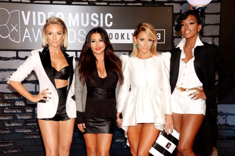2013 MTV Video Music Awards - Arrivals Danity Kane