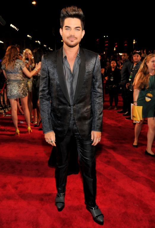2013 MTV Video Music Awards - Red Carpet Adam Lambert