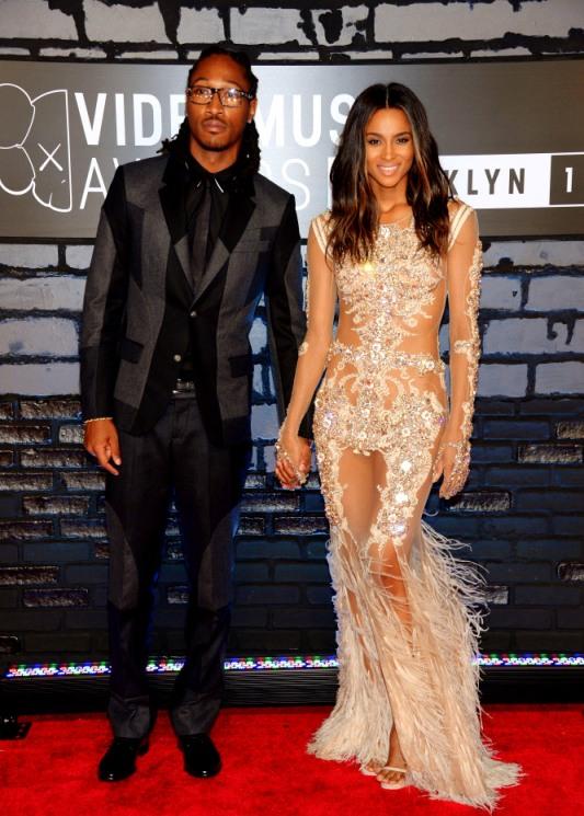 2013 MTV Video Music Awards - Arrivals Future & Ciara