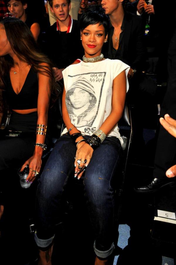 2013 MTV Video Music Awards - Audience Rihanna