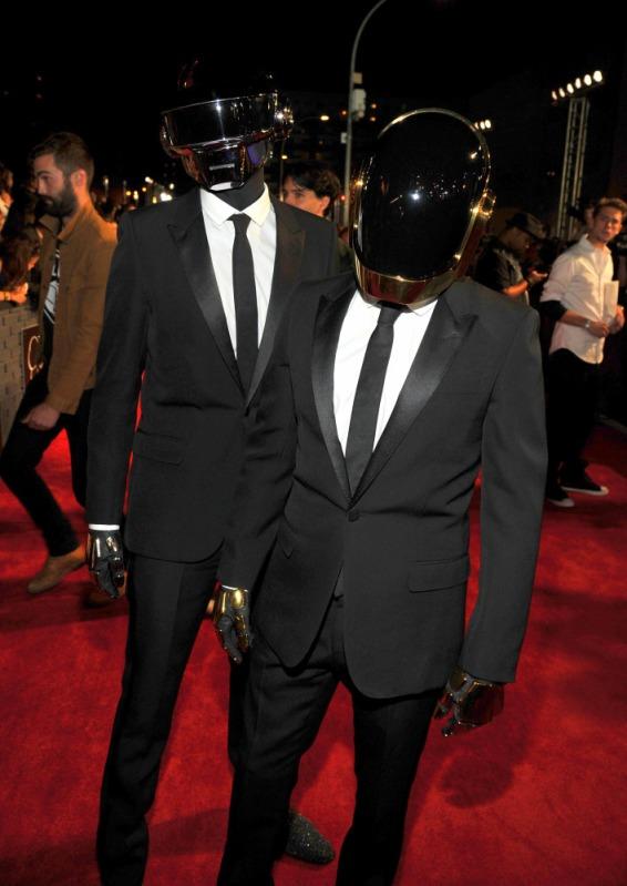2013 MTV Video Music Awards - Red Carpet Daft Punk