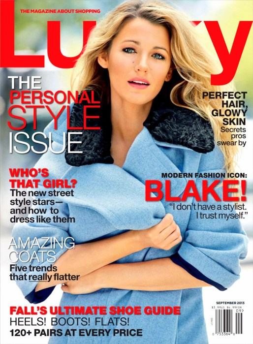 Blake-Lively-Patrick-Demarchelier-LuckyBlake Lively by Patrick Demarchelier for Lucky