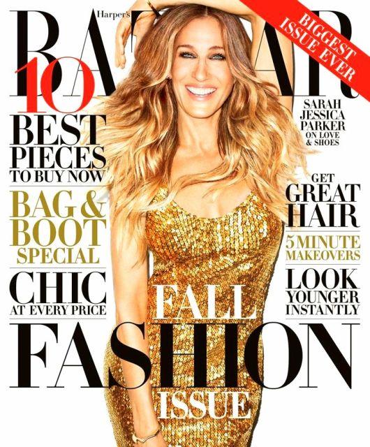 cc6Sarah Jessica Parker Covers @Harper's Bazaar, September 2013
