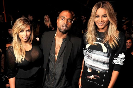 givenchy-fr06Kim Kardashian, Kanye West and Ciara