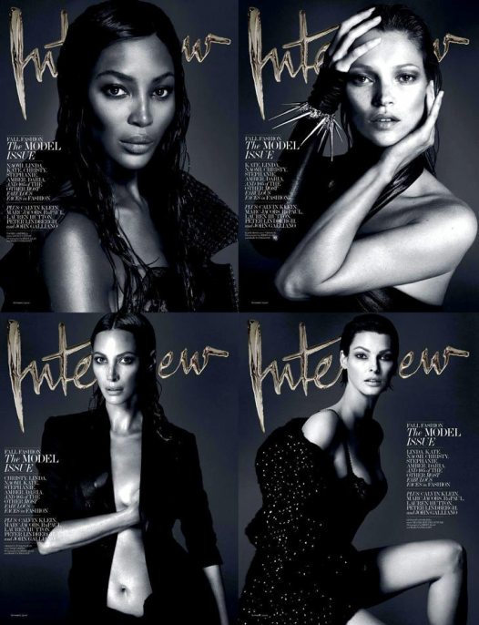 Interview-September-2013-Mert-Marcus-00Supermodels For Interview September 2013 by Mert & Marcus
