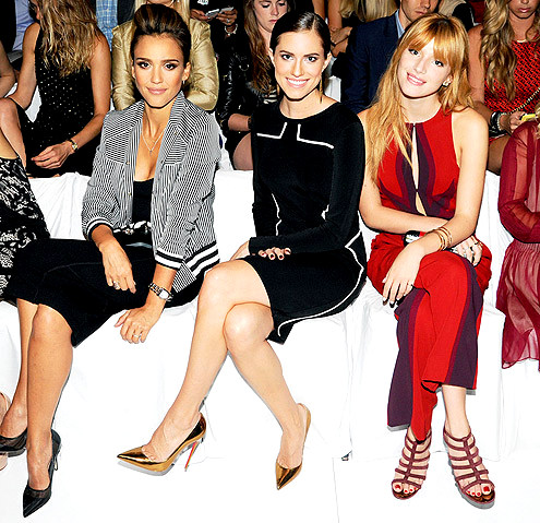 jessica-alba-495JESSICA ALBA, ALLISON WILLIAMS & BELLA THORNE