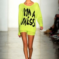 1960's POP ART PUNK VIDEO: #NYFW Jeremy Scott S/S 2014 Collection!