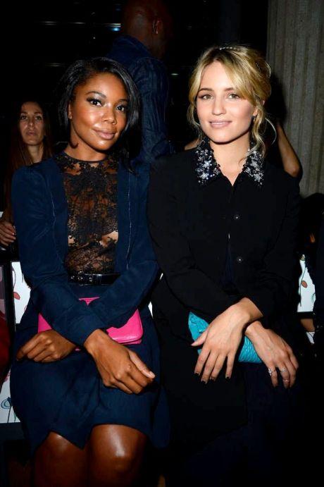 3087c9b85387af5bc1dc9641151ec5ac miu miuFront Row - Paris Fashion Week Womenswear SpringSummer 2014