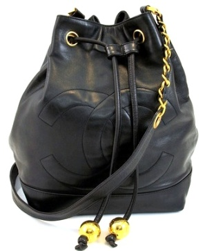 Chanel Drawstring Bucket Bag