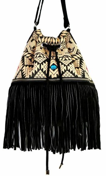 d323af8ef11d423fe1a1df21e6381561Ecote Embroidered Fringe Bucket Bag