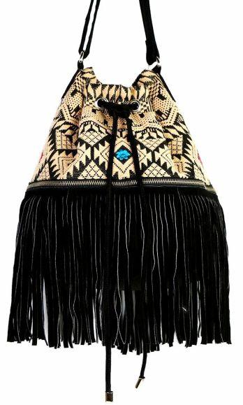 d323af8ef11d423fe1a1df21e6381561Ecote Embroidered Fringe Bucket Bag