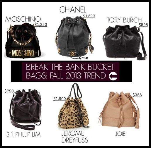 Bucket Bags Fall 2014 The Bank Bucket Bags Fall