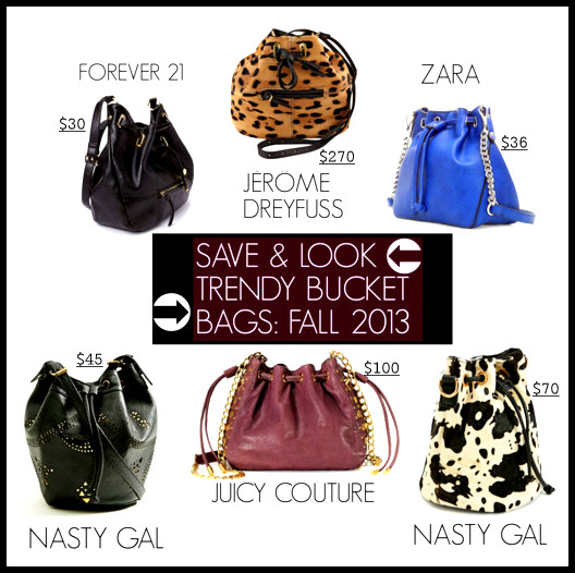 ImageProxySAVE & LOOK TRENDY BUCKET BAGS FALL 2013
