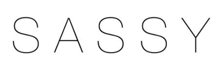 Sassy logo heading