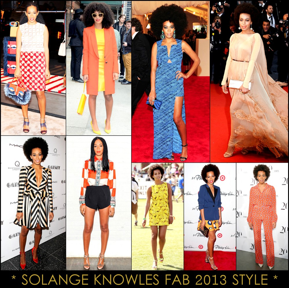 2013  Best Celeb Looks Solange Knowles