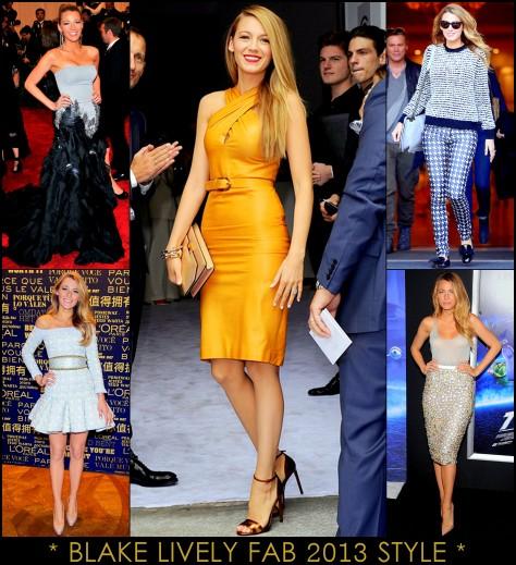2013 Best Celeb Looks Blake Lively