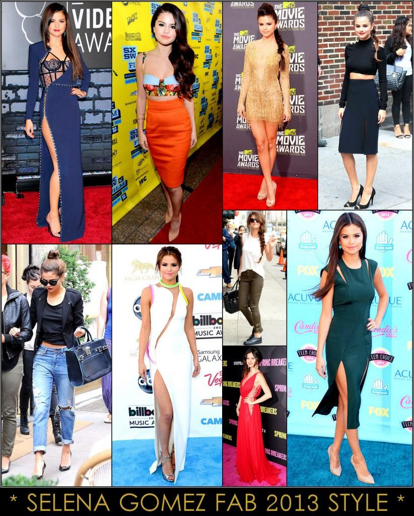 2013 Best Celeb Looks Selena Gomez
