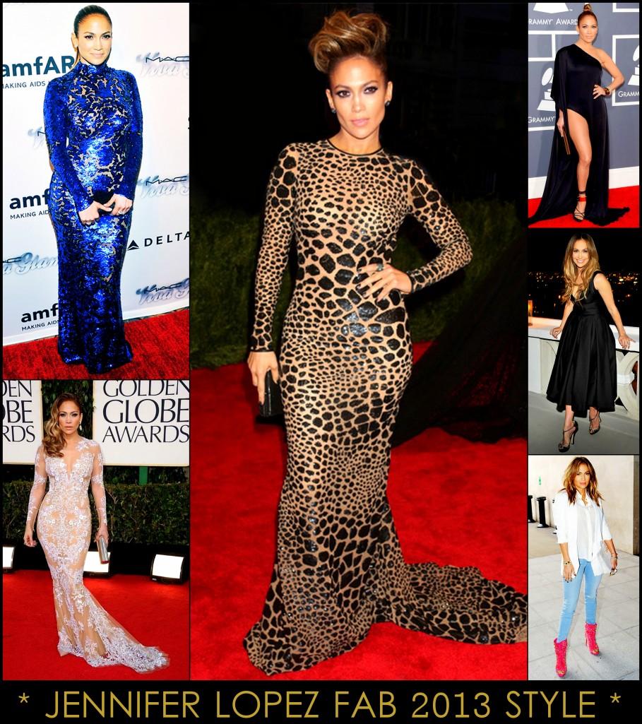2013 Best Celeb Looks Jennifer Lopez