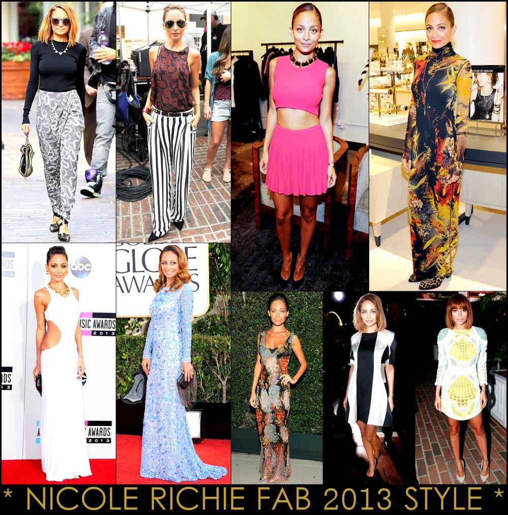 2013 Best Celeb Looks Nicole Richie