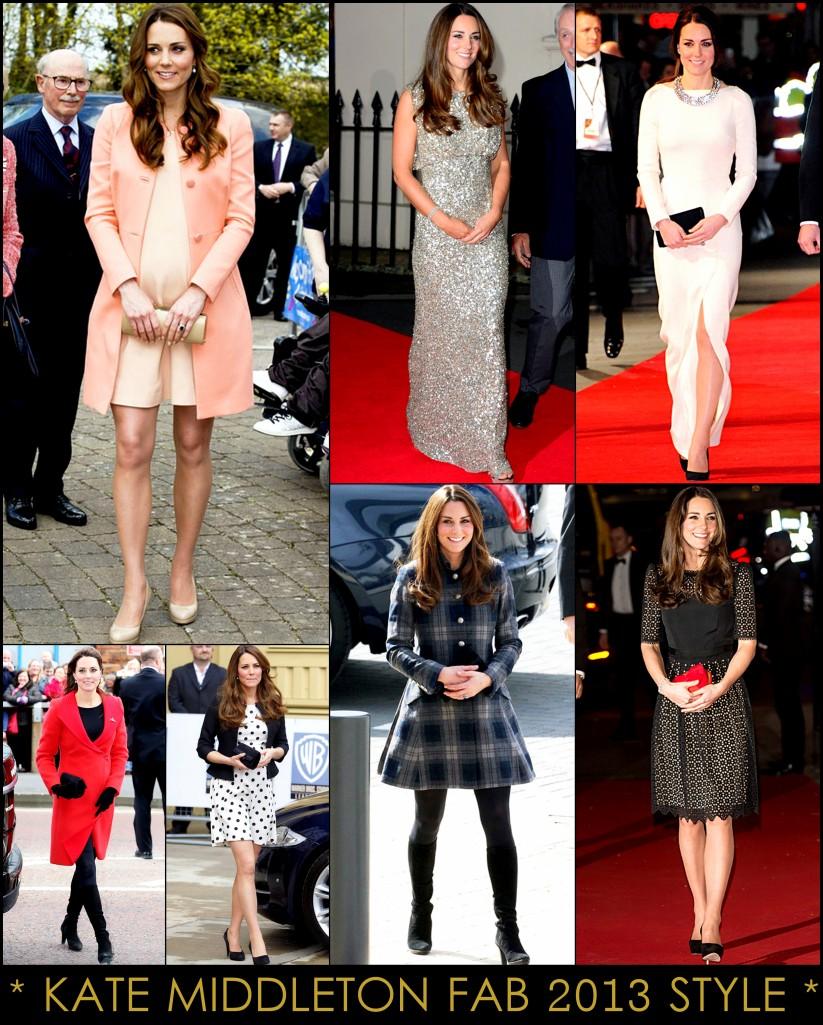 2013 Best Celeb Looks Kate Middleton Duchess