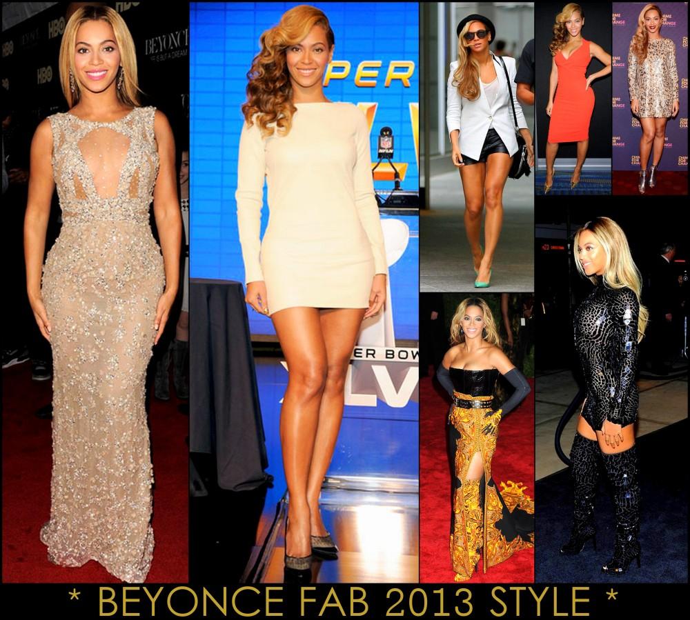 2013 Best Celeb Looks Beyonce