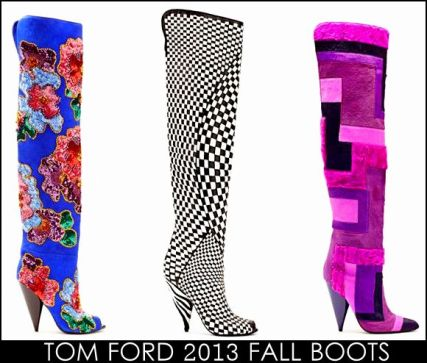 Tom Ford Fall 2013 Shoes and boots