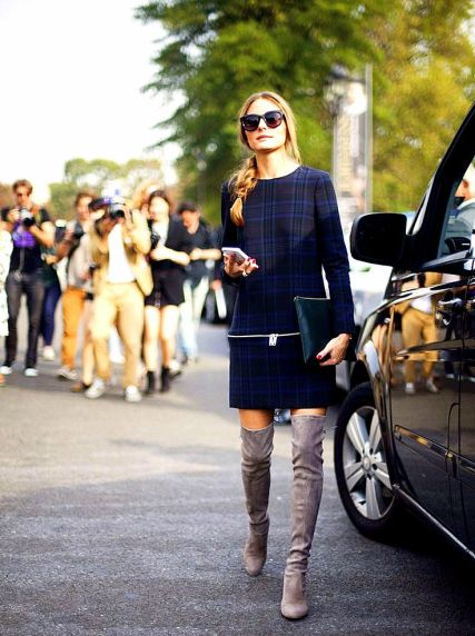 Olivia Palermo OVERKNEE AND THIGH BOOTS SEEM TO BE EVERYWHERE THIS AUTUMN!