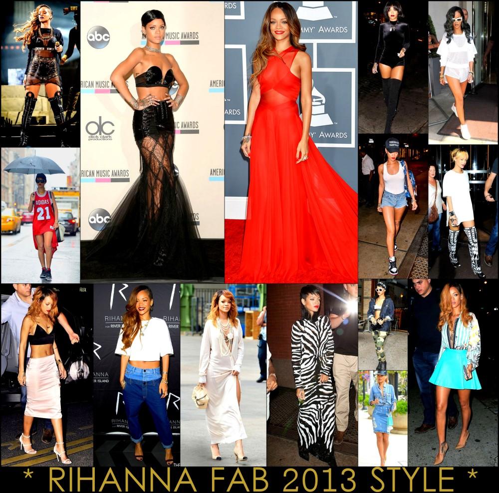 2013 Best Celeb Looks Rihanna