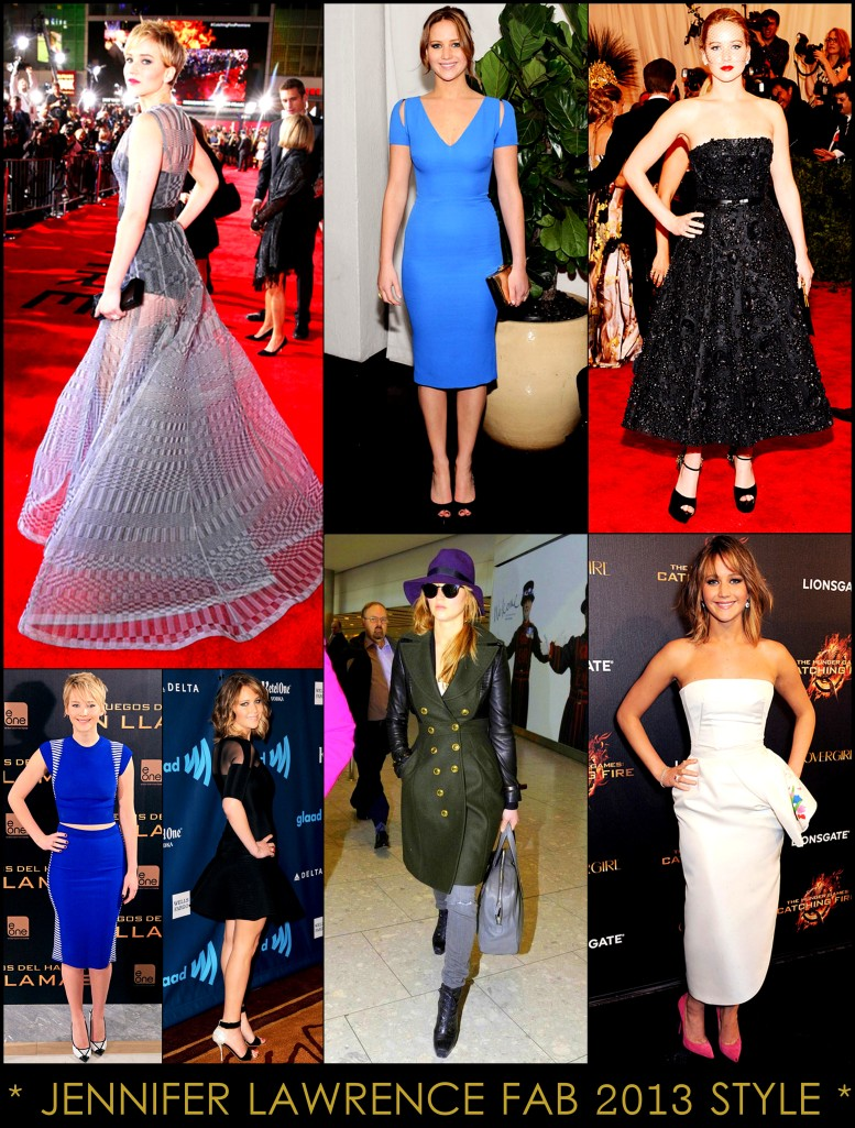 2013 Best Celeb Looks Jennifer Jawrence